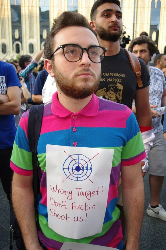 Tibilisi Pride, fot. Wojciech Wojtasiewicz