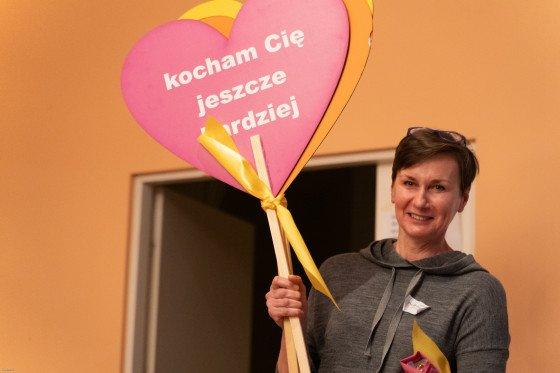 Ewa Miastkowska prezentuje nowe sercowe tablice