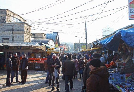 Kiszyniów, plac targowy.