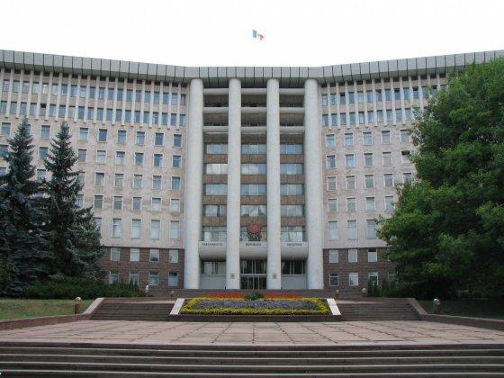 Siedziba mołdawskiego parlamentu.
