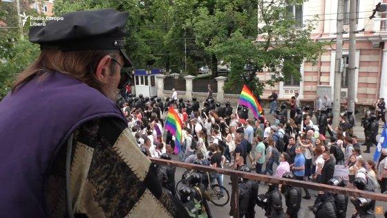 Marsz równości w Kiszyniowie, rok 2019.