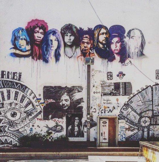 Hipsterska dzielnica Florentine.