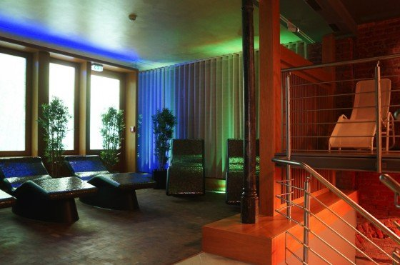 Sauna w hotelu Deutsche Eiche