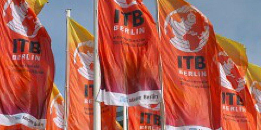 Gejowski pawilon na targach ITB w Berlinie