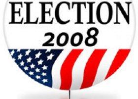 Różowe tło kampanii prezydenckiej w USA