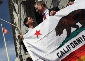 Kalifornia zarobi miliony dolarów na homoseksualnych ślubach