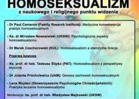 UKSW: Konferencja o homoseksualizmie odwołana