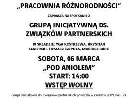 O związkach partnerskich w Toruniu i Olsztynie