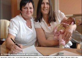 Pierwsze lesbijki podpisane w akcie urodzenia dziecka