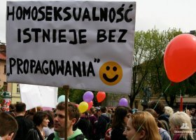 Politycy PO o (braku) homofobii w Polsce
