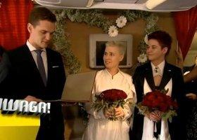 Ślub Ewy i Gosi w telewizji