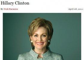 Sarah Palin zamiast Hillary Clinton