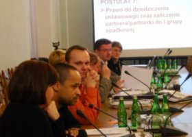 Związki partnerskie w Sejmie