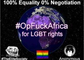 Hakerzy przeciwko homofobii w Afryce