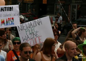 Protest: TVP o Marszu Równości w Krakowie