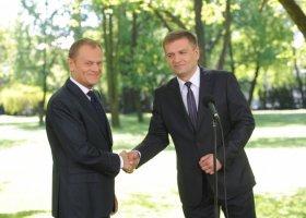 Tusk: związki możliwe po wyborach?