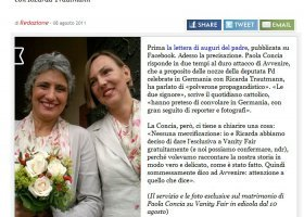 Włochy: wyoutowana parlamentarzystka wzięła ślub