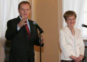 Elżbieta Radziszewska nie ma zdania o związkach?