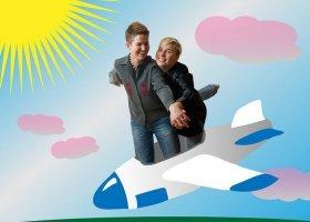 Ewa i Gosia: pierwsza rocznica ślubu w chmurach!