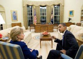 Obama i Clinton w obronie praw społeczności LGBT