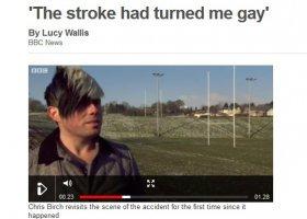 """Udar """"zrobił"""" go gejem?"""