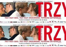 """Warszawa: plakat do """"Trzy"""" zbyt homoerotyczny"""