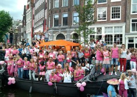 Cały Amsterdam świętował Gay Pride