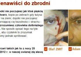 Atak nienawiści w Łodzi