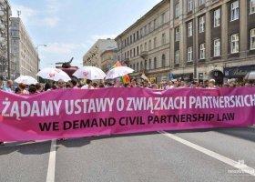 Żądamy związków partnerskich!