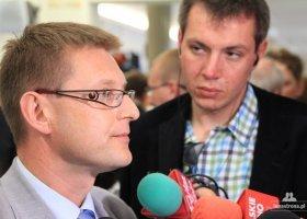 Projekty RP i SLD złożone, Dunin: będę rozmawiał z klubem PO