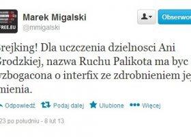 """Twitterowe """"żarty"""" Marka Migalskiego"""