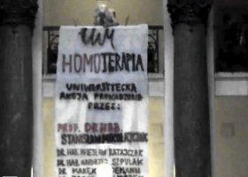 """""""Homoterapia"""" w Poznaniu"""