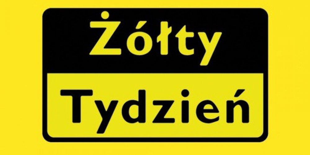 XXVI edycja akcji Żółty Tydzień