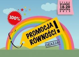 Uwaga! Wielka promocja równości w Łodzi!
