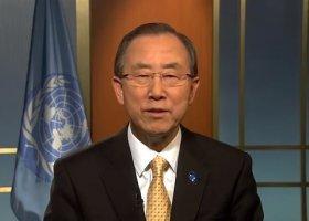 """Sekretarz Generalny ONZ: """"Jestem z wami"""""""