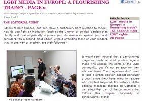 Media LGBT w Europie