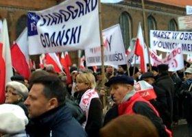 """""""Stop homoterrorowi!"""" czyli marsz w obronie TV Trwam"""