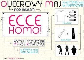 Kraków: wszyscy jesteśmy homo!