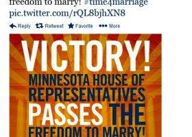 Numer 12 w drodze? Równość małżeńska w Minnesocie