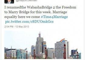 USA: 12 stan z równością małżeńską