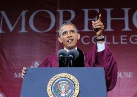 Obama do studentów: bądźcie najlepszymi mężami dla swoich chłopaków!