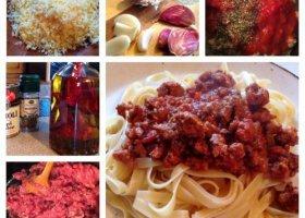 Piątkowe gotowanie: spaghetti
