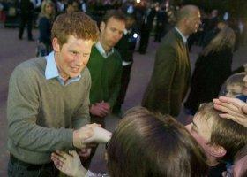 Książę Harry obrońcą gejów?