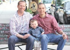 Dzień Ojca: dwóch tatusiów w Białym Domu