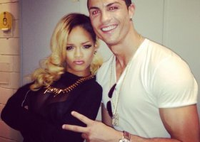 """Rihanna o Ronaldo: """"Mam wielu homoseksualnych przyjaciół"""""""