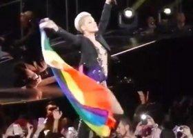 Pink: nazwanie lesbijką to komplement