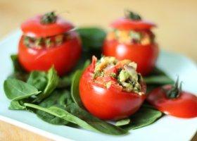 Przepisy: nadziewane pomidorki