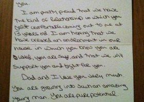Rodzice listy piszą...