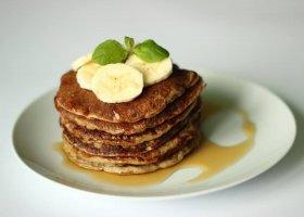 Przepisy: pancakes owsiano-bananowe