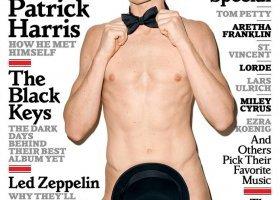"Nagi Harris na okładce ""Rolling Stone"""